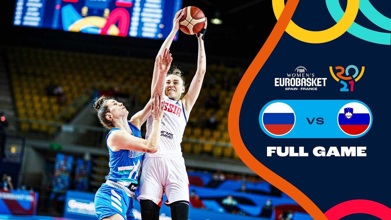 Russia v Slovenia   Full Game - FIBA Women's EuroBasket 2021 Final Round