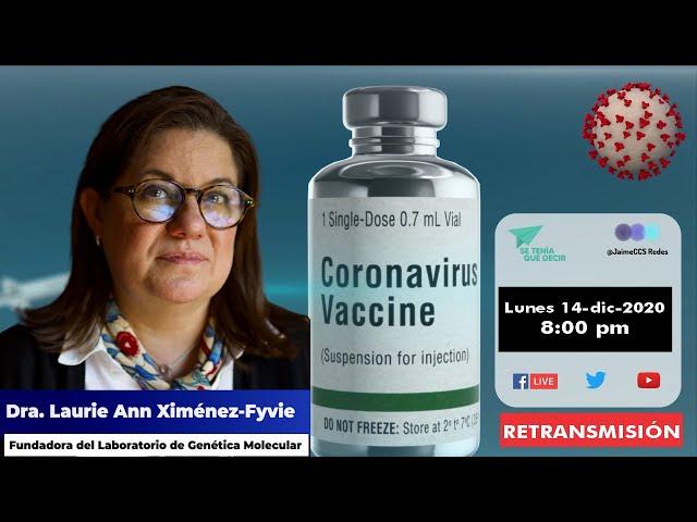 -RETRANSMISIÓN-  Vacuna para el COVID-19