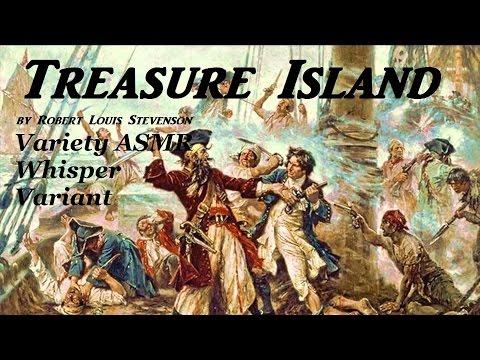 ASMR Reading Treasure Island in a Whisper