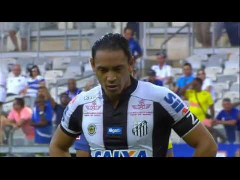Cruzeiro 2x2 Santos, Melhores Momentos Brasileirão Serie A 2016 - 20/11/2016