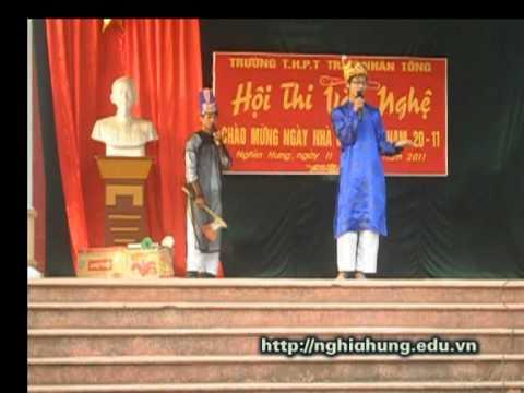 Táo quân học sinh thể hiện - Trường THPT Trần Nhân Tông - Nam Định