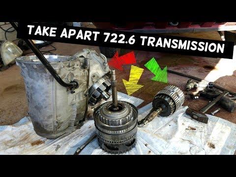 Taking Apart Mercedes Transmission 722.6 5G