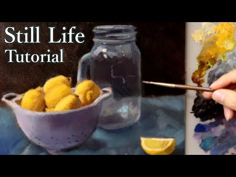 Oil Painting Demonstration   Alla-Prima Approach