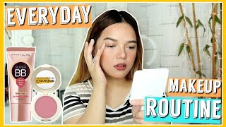 MY UPDATED EVERYDAY MAKEUP ROUTINE (FRESH & EASY!) | Philippines