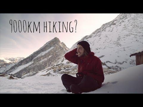 9000km hiking through Europe Pre-Hike