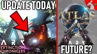 ARK TEK RAPTOR UPDATE XB1 PS4 PC - WHEN CAN WE SEE MORE ATLAS AN ARK EXTINCTION