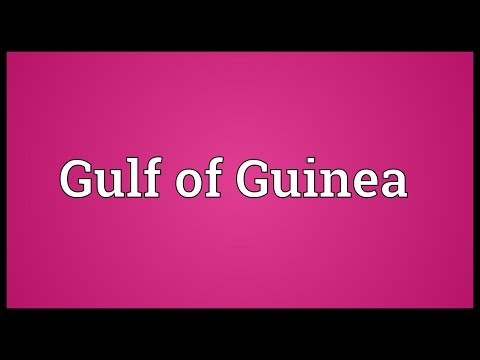 Gulf of Guinea Meaning