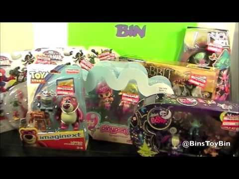 Amazing Target Clearance Toy Haul + NEW VIDEO CAMERA! (August, 2013) by Bin's Toy Bin