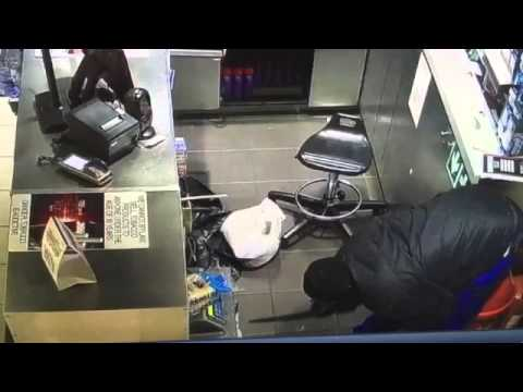 Robbery -  Thieves blow up safe in Fuel Station - South Africa