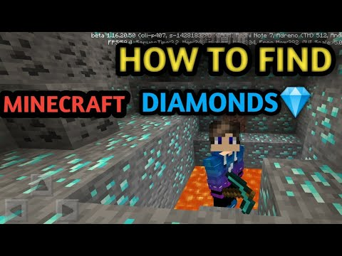 how-to-find-diamonds-in-minecraft-||-trick-to-find-diamonds-||-mining-world