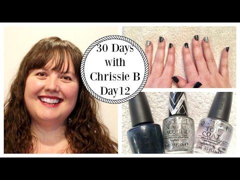 30 Days with Chrissie B - Day 12 | Coconut Sugar Scrub & Spa Manicure Tutorial