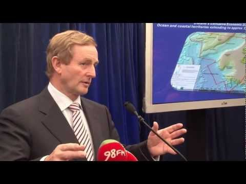 Taoiseach announces marine jobs - 6th Oct 2011 onboard Celtic Explorer