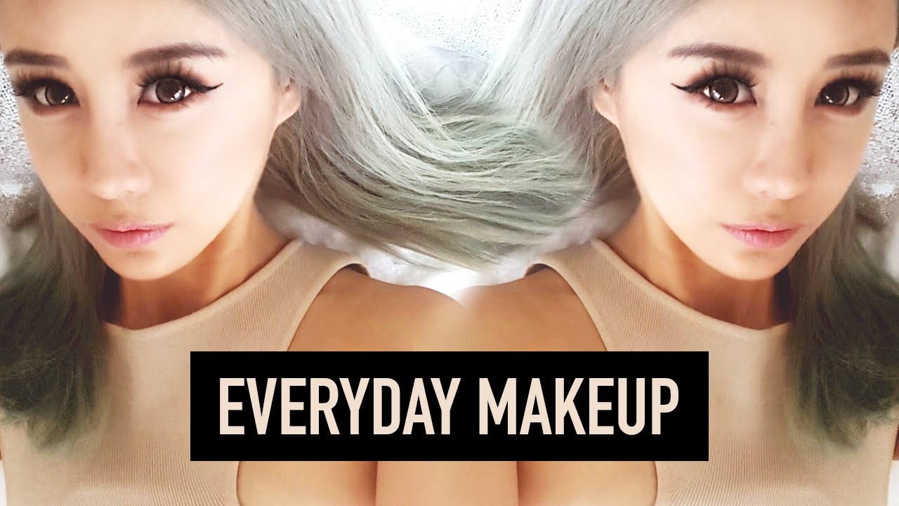 everyday makeup tutorial for beginners school makeup only 5 products used wengie youtube - Halloween Makeup For Beginners
