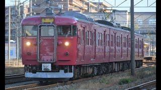 七尾線832M 415系800番台3両 津端駅発車