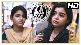 Thiri Movie Scenes | Swathi's father passes away | Ashwin saves Swathi | Jayaprakash