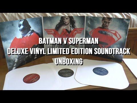 Vinyl Unboxing - Batman v Superman Dawn of Justice - Deluxe Vinyl Limited Edition Soundtrack
