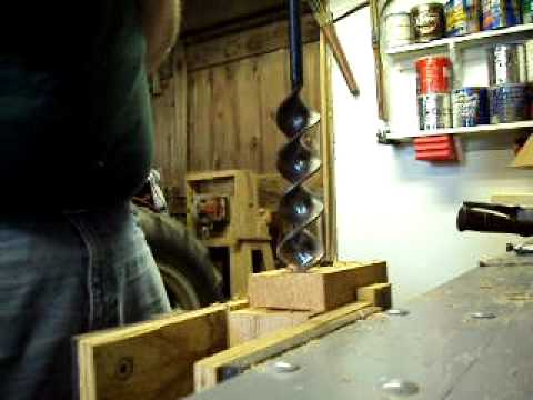 Timber Frame - Barn Auger Restoration - a video tutorial from Old ...
