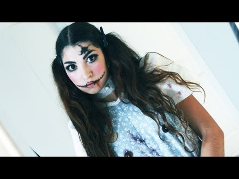 Tutoriel maquillage poup e psychopathe youtube - Maquillage poupe demoniaque ...