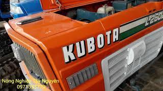 Bán máy cày Kubota  L2602dt  ben cơ, lái trợ lực