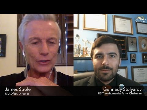 Activating Transhumanism - Gennady Stolyarov II Interviewed by James Strole on RAAD Fest 2017
