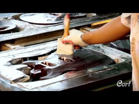 Cort Electric Guitar Factory Tour - Full tour of how an electric guitar is made