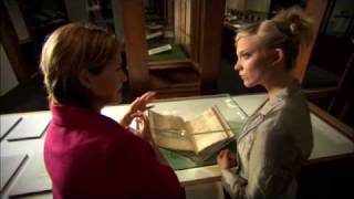 Behind The Tudors with Natalie Dormer: The British Library