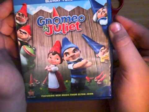 Download Gnomeo and Juliet Bluray Unboxing