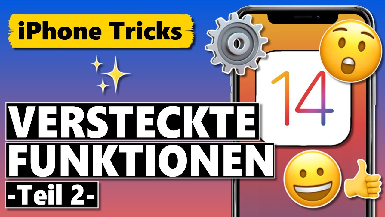 Versteckte iOS 14 Funktionen die du UNBEDINGT kennen solltest (Teil 2)