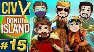 Civ V: Donut Island #15 Gold Poop