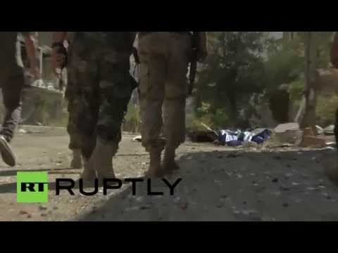 Syria: Assad's forces retake ruined Zabadani