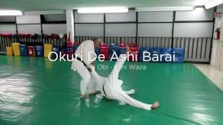 Okuri De Ashi Barai (Orenji Obi · Ashi Waza)