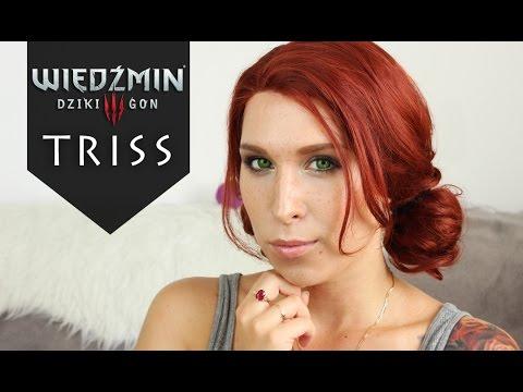 Makijaż I Fryzura Triss Wiedźmin 3 Halloween Agnieszka Grzelak Beauty