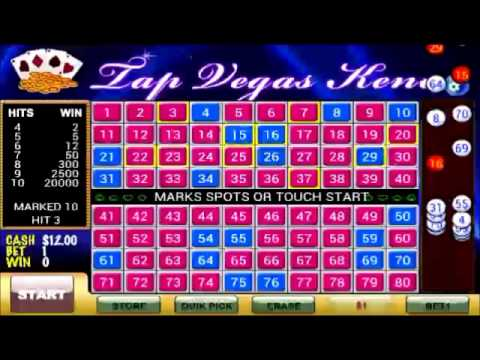 Tap Vegas Keno Best Free Games In Google Play Youtube