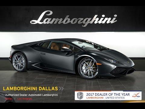 2016 Lamborghini Huracan LP 610-4 Nero Nemesis GLA04203