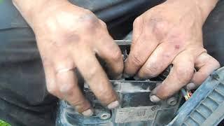 как устранить проблему в фарах автомобиля VW Passat B6 типа: