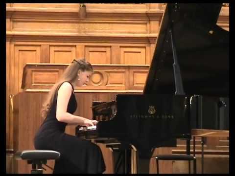Elizaveta FROLOVA Liszt-Horowitz Hungarian Rhapsody n.19