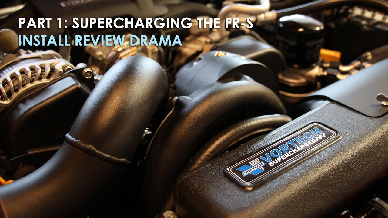The Dramatic Supercharger Install and Final Review | Vortech, Perrin