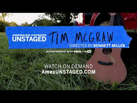 Tim McGraw & Bennett Miller On Demand – American Express UNSTAGED