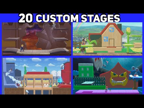 Super Smash Brothers Ultimate Stage Builder | Know Your Meme