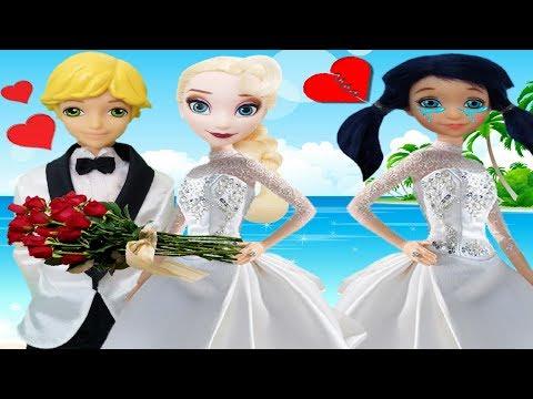 Prodigiosa🐞 CAP 64 Adrien se casa con Elsa   videos de ladybg marinette and adrien