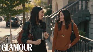 Odd Mom Out Stars Jill Kargman and KK Glick Tour Brooklyn