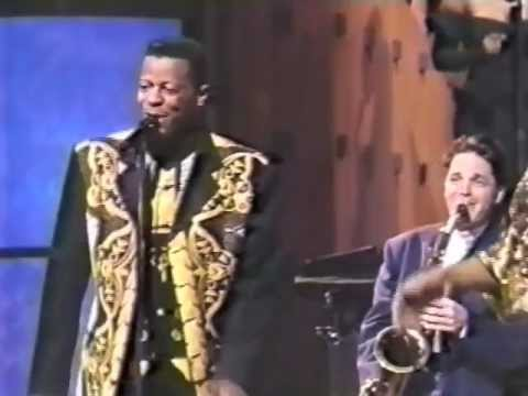 Ali Ollie Woodson & Bob Womack on The Arsenio Hall Shaw