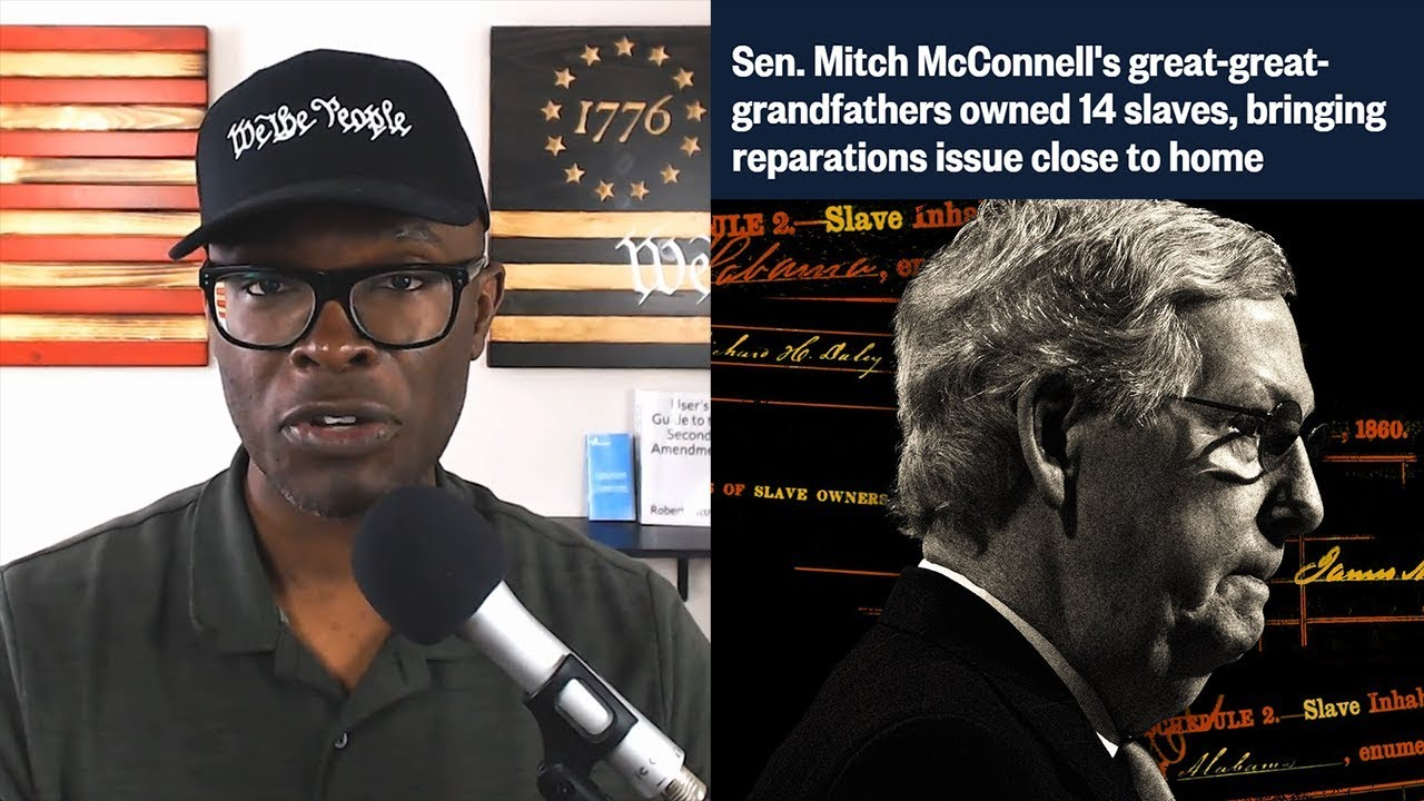 Anthony Brian Logan NBC Says Mitch McConnell's Ancestors Owned Slaves. So What?