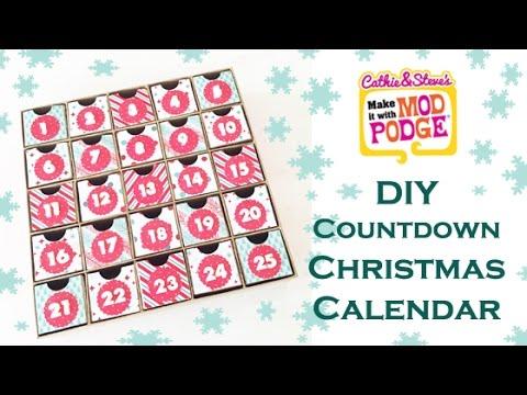diy kids countdown to christmas calendar youtube