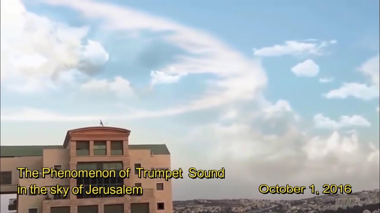 Image result for trumpet sounds in jerusalem 2016
