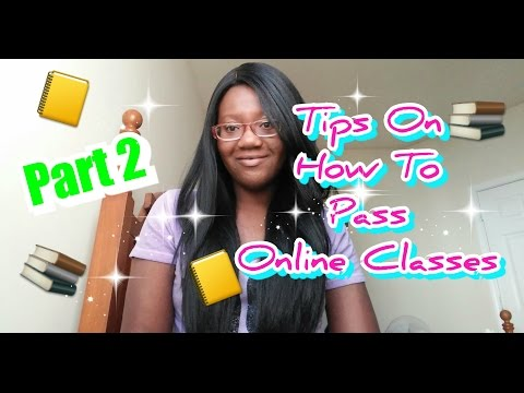 💻Part 2: Tips On Passing /Taking Online College Classes (Pros & Cons)| PrincessLexiseLicious
