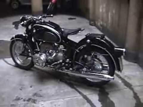 vintage 1959 bmw r69 motorcycle - youtube