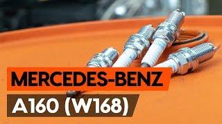 Как заменить свечи зажигания на MERCEDES-BENZ A160 (W168) [ВИДЕОУРОК AUTODOC]