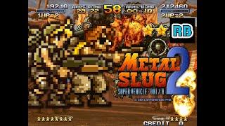 1998 [60fps] Metal Slug 2 2Players Nomiss ALL