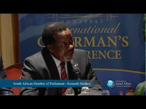 European Reporter Questions South African Member Of Parliament On Israeli Apartheid Charge